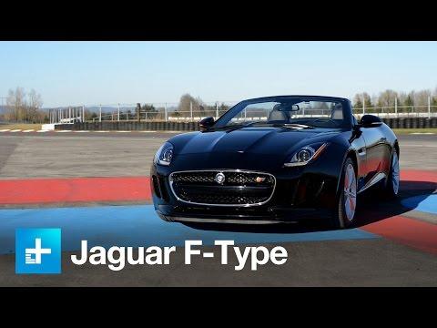 2014 Jaguar F-Type Convertible video review