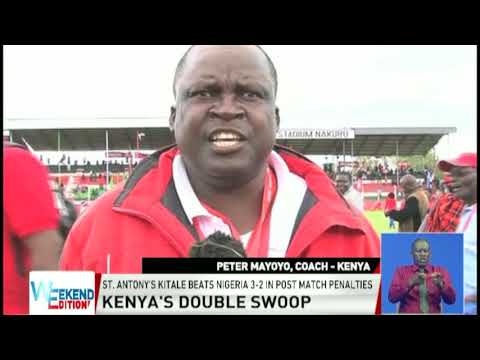 Hosts Kenya, win inaugural boys and girls Copa Africa titles