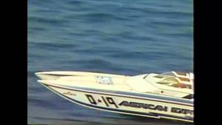 Jimmy Cazzani 1990 Offshore powerboat racing American Express