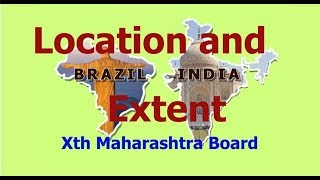 Location and Extent - Xth Maharashtra State Board (part 1)