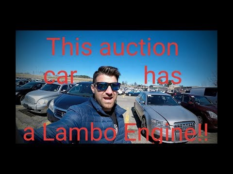 Auction  Car with Lambo Engine for under $10,000!! - Flying Wheels
