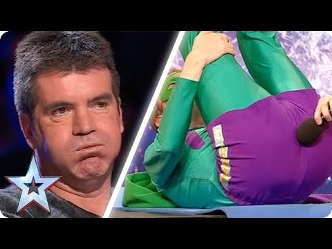Simon is NOT impressed with Mr Methane's musical instrument | Britain's Got Talent