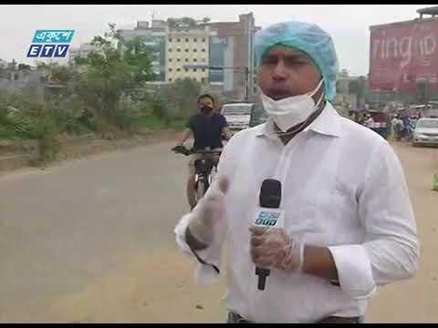 ঢাকা ছাড়ছে মানুষ | টঙ্গী থেকে সরাসরি জানাচ্ছেন সাইদুল ইসলাম | ETV News