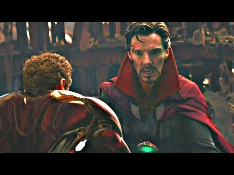 Russo Bros Explain EXACTLY What Dr. Strange Saw In His Vision AVENGERS INFINITY WAR