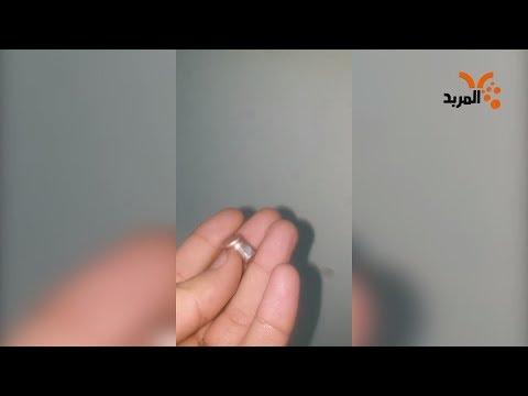 شاهد بالفيديو.. طالب يوضح مسار رصاصة