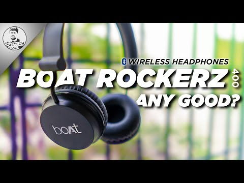 1500 Rupees Bluetooth Headphones (Amazon Bestseller) - Boat Rockerz 400 Any Good?