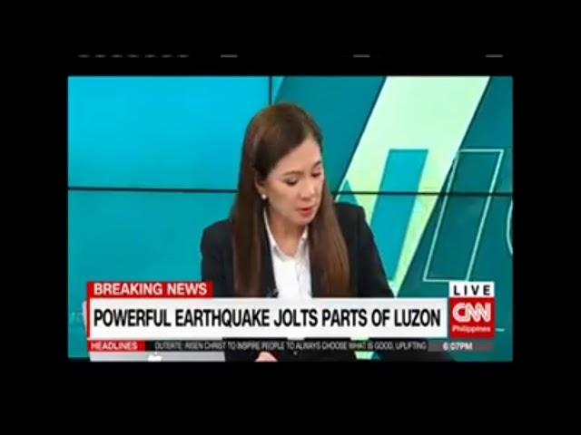 Latest Ng 6 1 Magnitude Earthquake Sa Manila Philippines Breaking News