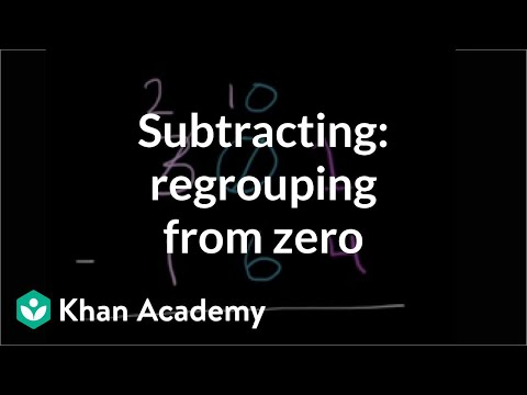 Worked example: Subtracting 3-digit numbers (regrouping from