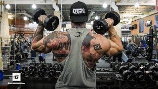 Chest & Shoulders Workout   Day 51   Kris Gethin's 8-Week Hardcore Training Program by Bodybuilding.com