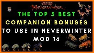 How The Legendary Companion Bolster Bonus System Works In Mod 16