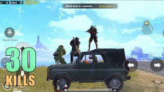 I PLAYED WITH SOUL MEMBER THEN THIS HAPPENED!!!   30 KILLS   PUBG MOBILE