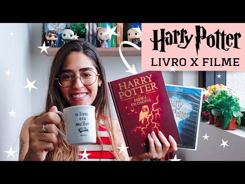 LIVRO x FILME: Harry Potter e a Pedra Filosofal | Rebecca Gueiros