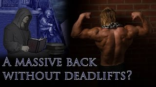 The Golden One: Deadlifts. Can you get M A S S I V E without them? Also, we must retake Jerusalem