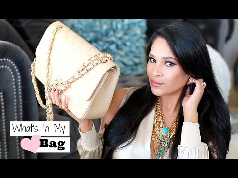 What's In My Bag 2015 Chanel Jumbo – What's In My Purse – MissLizHeart
