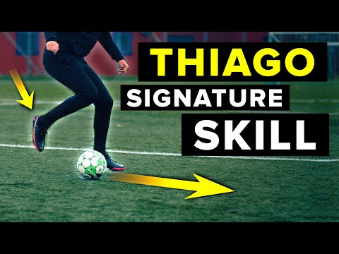 Learn sexy football skills – how to play like Thiago