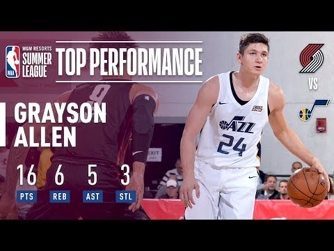 6039c7aab283 Grayson Allen With The All Around Performance In 2018 MGM Resorts Las Vegas Summer  League!