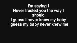 I Guess I Never Knew My Baby - Tata Young | Lyrics Video
