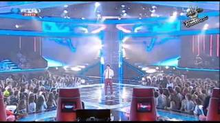 """Luís Sequeira - """"Resistance"""" Muse - Gala 1 - The Voice Portugal - S2"""