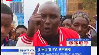 Juhudi za amani Nyeri: Vijana watakiwa kuzingatia amani