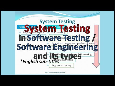 System Testing tutorial