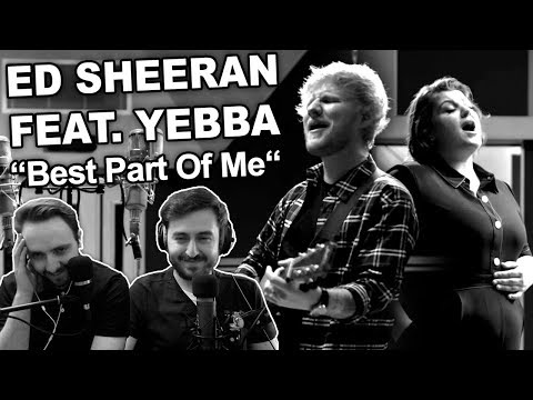 """Ed Sheeran Feat. Yebba - Best Part Of Me"" SINGERS REACTION - REVIEW - MAProductions"