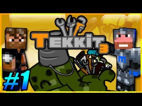 Tekkit Pt.1 |I Like Gold LLC.| Welcome to the Company