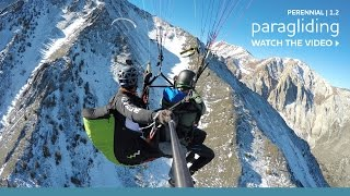 Dave Turner Paragliding in the Eastern Sierra | Perennial 1.2 Visit Mammoth