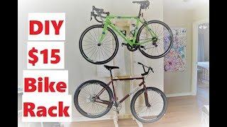 How To Build A $15 Bike Storage Rack
