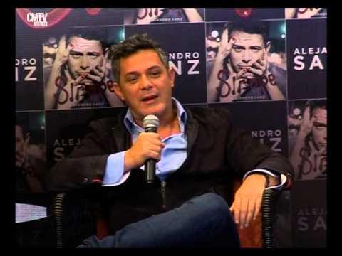 Alejandro Sanz video Conferencia de prensa - Argentina - Mayo 2015