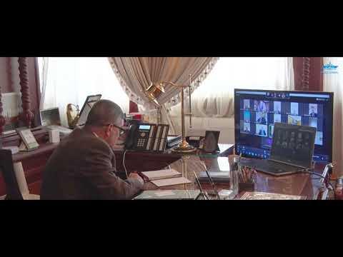 اجتماع مجلس إدارة الهيئة بالفيديو كونفرانس