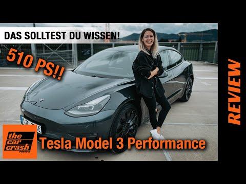 Tesla Model 3 Performance (2021) Das solltest du wissen! ⚡️ Fahrbericht   Review   Test   Reichweite
