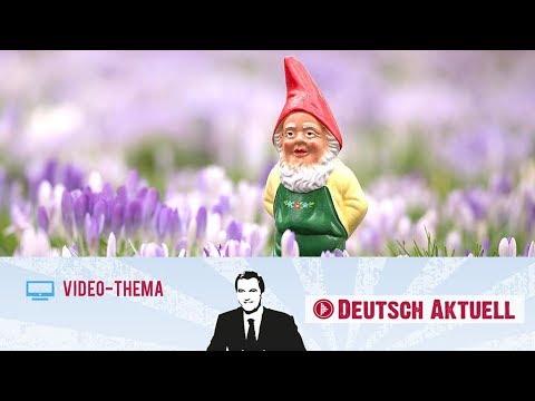 Typisch deutsch: der Gartenzwerg | Deutsch lernen mit Videos