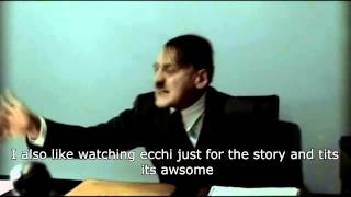"Hitler is asked ""Do you Like Ecchi Animes?"""