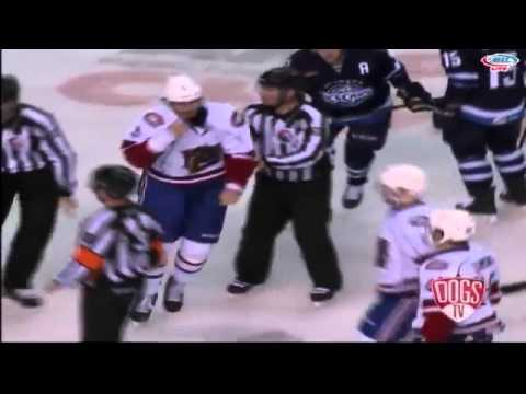 Jarred Tinordi vs. Mike Cornell