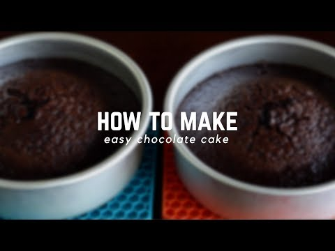 Video How To Make Easy Chocolate Cake | Follow The Freemans