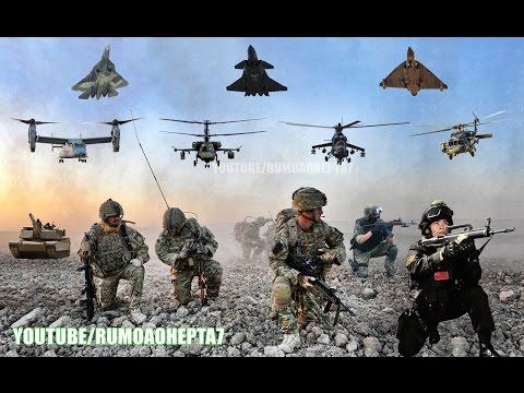 Top 5 Most Powerful Countries in the World 2017 - 5 as Maiores Potências militares do mundo 2017