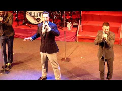 Say What I Feel - The Overtones @ London Palladium