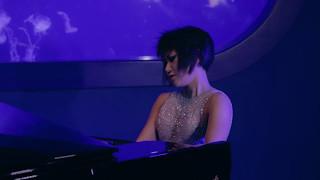 Yuja Wang - Actuación en la exposición de medusas de L'Oceanogràfic