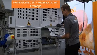 Hammer Mill GD - Automatic Screen Exchange