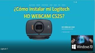 ¿Cómo instalar tu logitech HD Webcam C525?