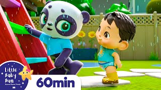 Rain Rain Go Away - Playing in Puddles | +More Nursery Rhymes | ABCs and 123s | Little Baby Bum