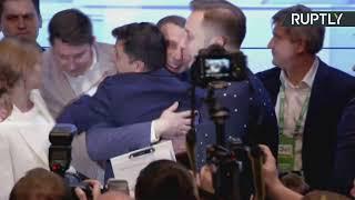 Зеленский комментирует предварительные итоги второго тура выборов президента Украины — LIVE