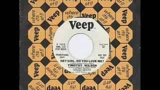 Timothy Wilson - Hey Girl Do You Love Me