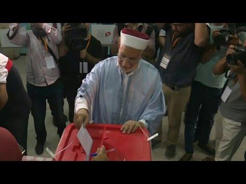 Tunisie: le candidat Abdelfattah Mourou vote à La Marsa | AFP Images