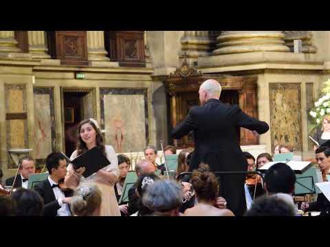 Soprano Soloist-Faure Requiem-La Madeleine Paris, France