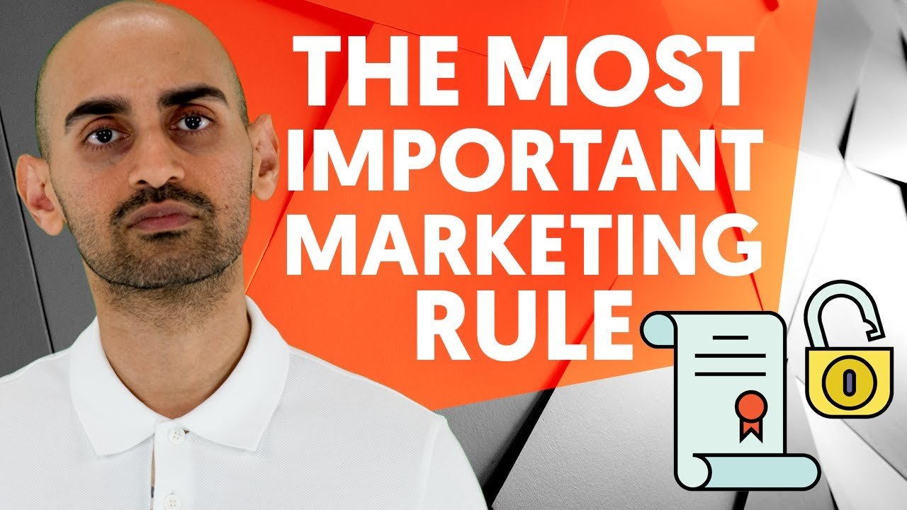 The Only Rule In Marketing You Have To Follow
