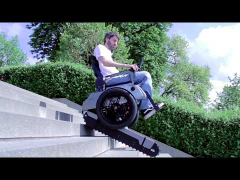 Scalevo - The Stairclimbing Wheelchair - ETH Zürich