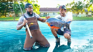 Catch & Cook GIANT PIRANHAS In Florida!