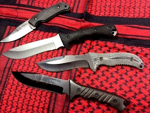 Schrade Survival Knife Comparison