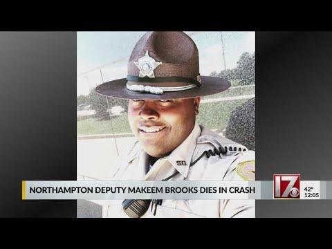 Northhampton deputy Makeem Brooks dies in crash